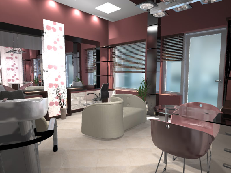 Want to set up luxury hair salon beauty parlour spa health for Interior decoration company