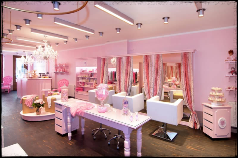 Beauty salon interior designers saket archives maxwell for Interieur design salon